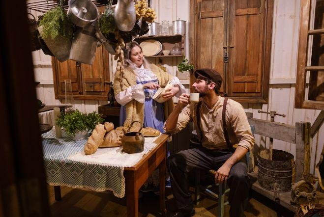 Rosa e Lázaro protagonizam a Epopeia Italiana