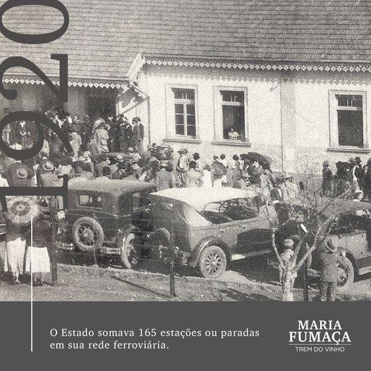 Maria Fumaça em Gramado