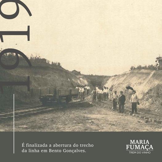 A história do Trem do Vinho no Rio Grande do Sul